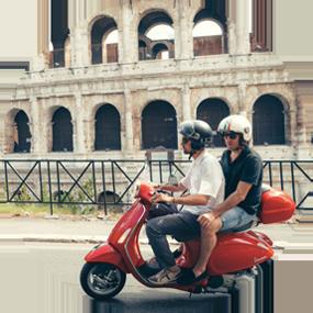 vespa tours rome